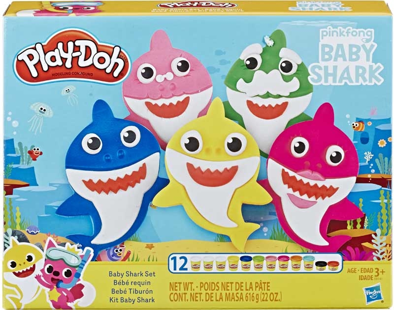 Wholesalers of Play Doh Baby Shark Set toys