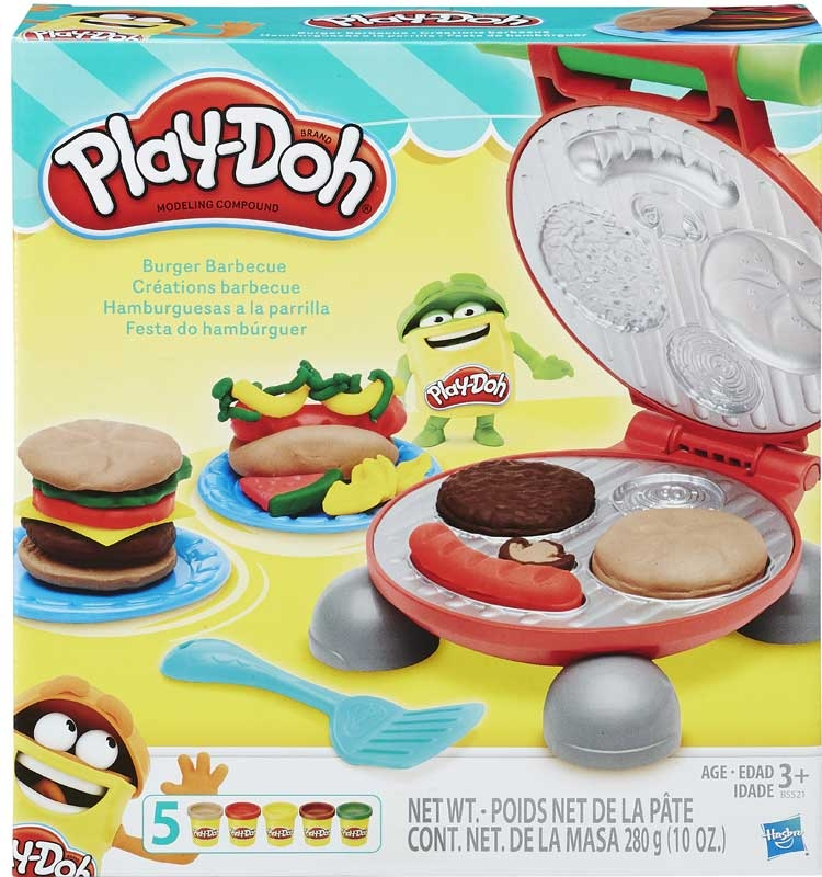 Wholesalers of Play-doh Burger Barbecue toys