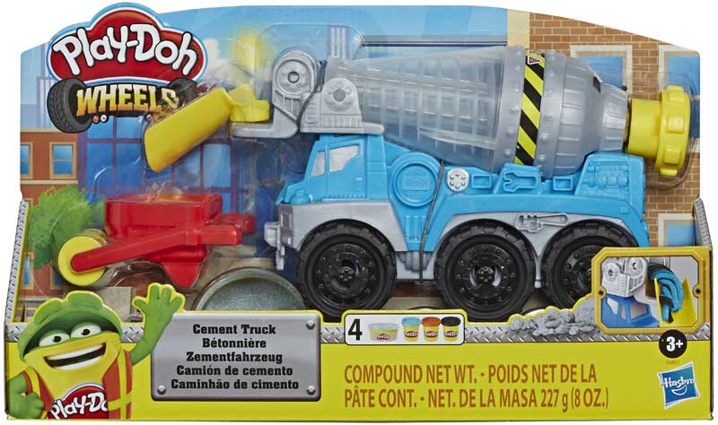 Wholesalers of Play Doh Cement Truck toys