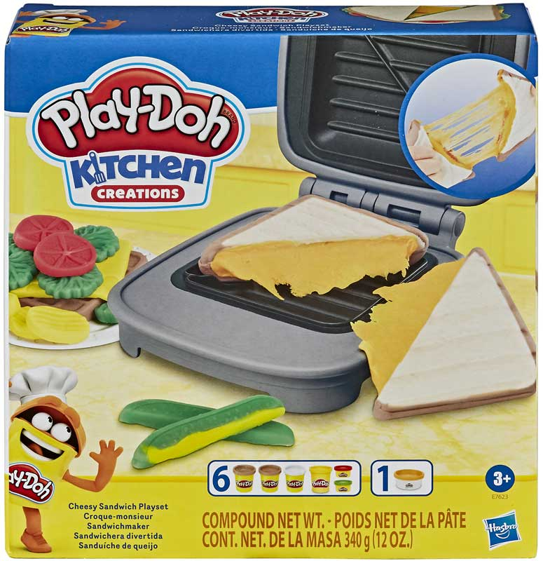 Wholesalers of Play-doh Cheesy Sandwich Playset toys