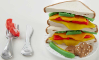 Wholesalers of Play-doh Cheesy Sandwich Playset toys image 3