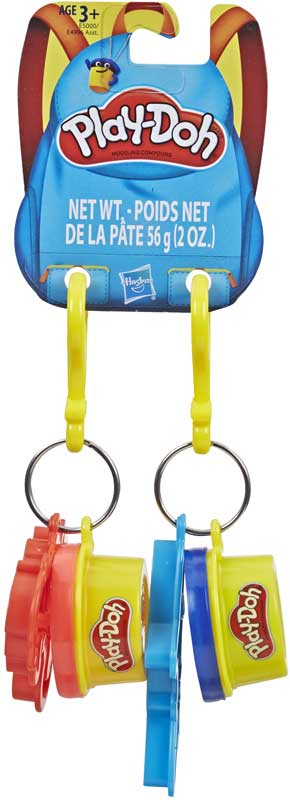 Wholesalers of Play Doh Clip Ons Asst toys