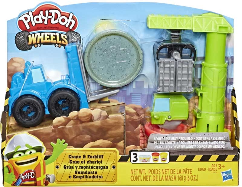 Wholesalers of Play Doh Crane Forklift toys