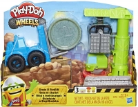 Wholesalers of Play Doh Crane Forklift toys image