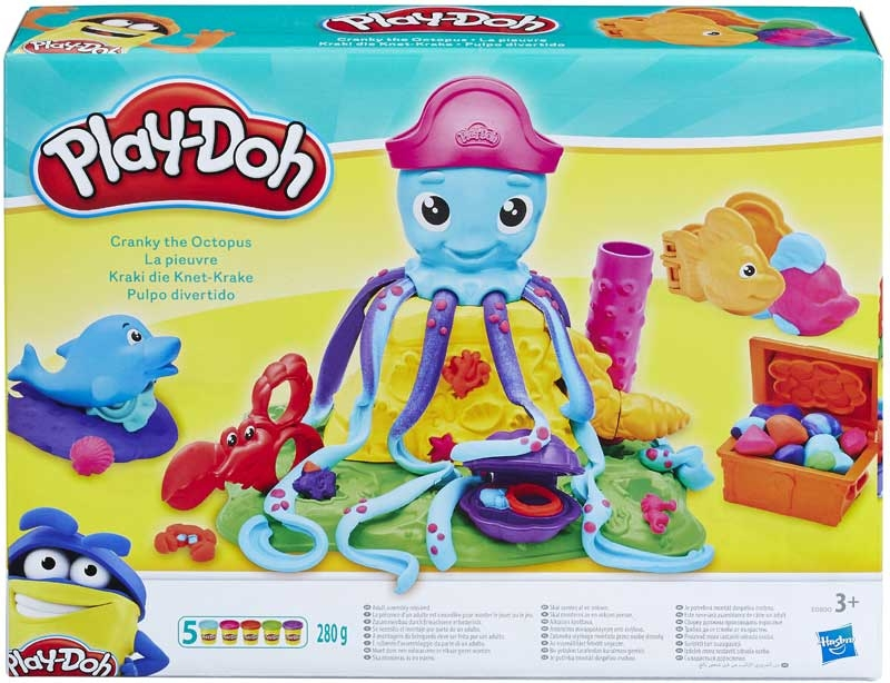 Wholesalers of Play Doh Cranky The Octopus toys