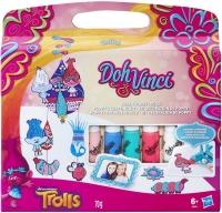 Wholesalers of Play-doh Dohvinci Trolls Poppys Crafting Kit toys image