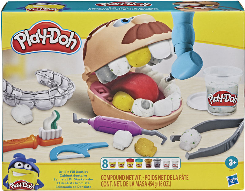 Wholesalers of Play-doh Drill N Fill Dentist toys