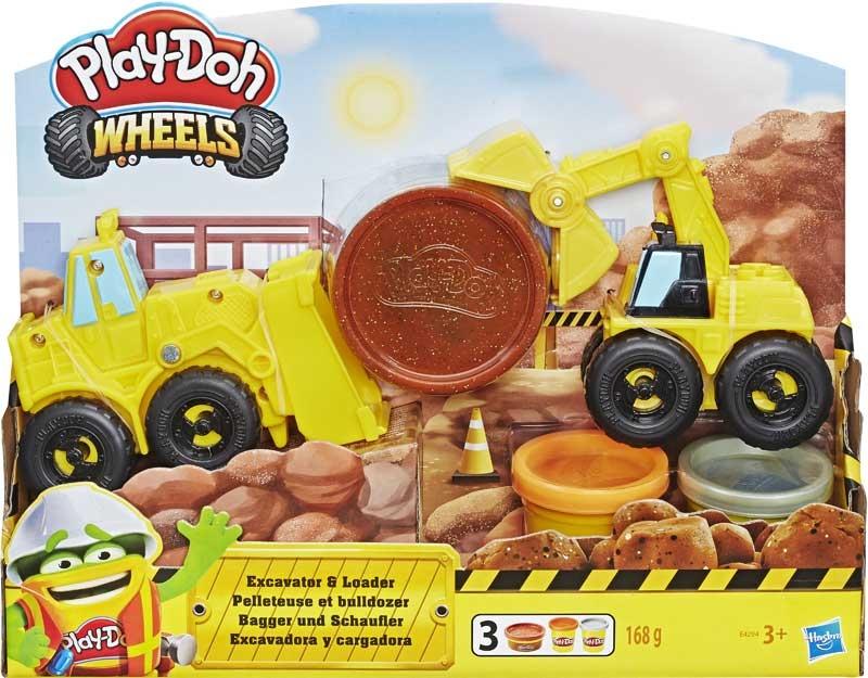 Wholesalers of Play Doh Excavator N Loader toys