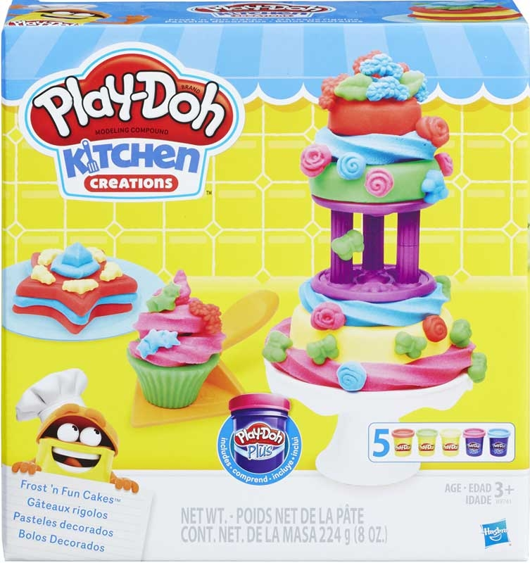 Wholesalers of Play Doh Frost N Fun Cakes toys