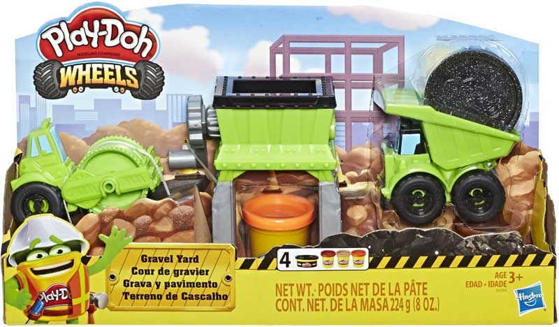 Wholesalers of Play Doh Gravel Yard toys