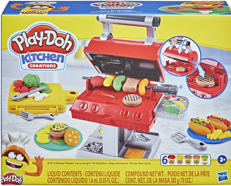 Wholesalers of Play-doh Grill N Stamp Playset toys