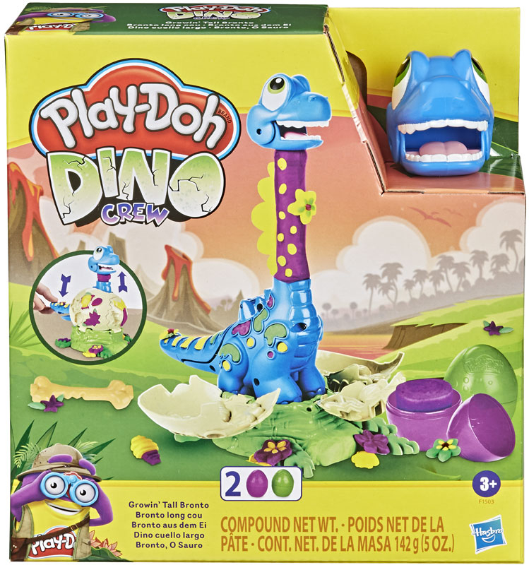 Wholesalers of Play-doh Growin Tall Bronto toys