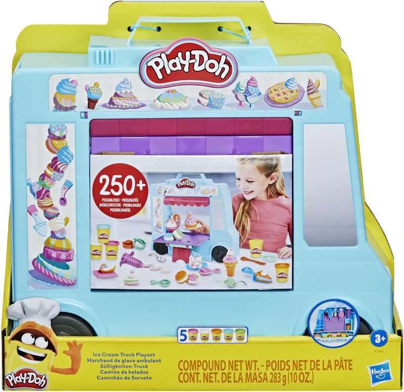 Wholesalers of Play-doh Ice Cream Truck Playset toys
