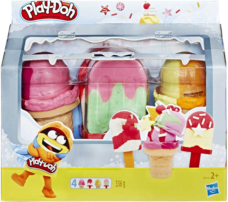 Wholesalers of Play Doh Ice Pops N Cones Freezer toys