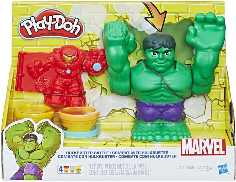 Wholesalers of Play Doh Marvel Hulkbuster Battle toys