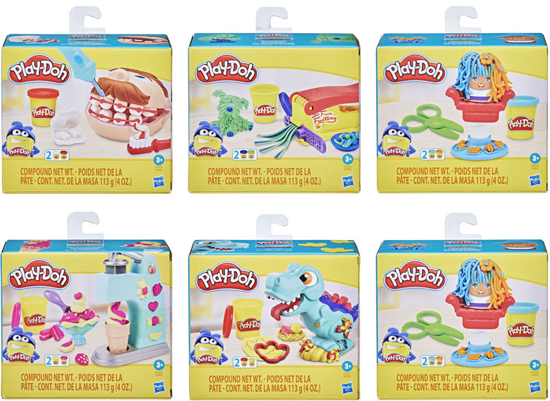 Wholesalers of Play-doh Mini Classics Ast toys