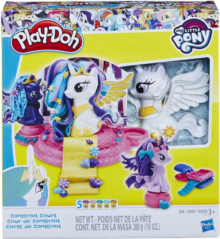 Wholesalers of Play Doh My Little Pony Canterlot Court toys