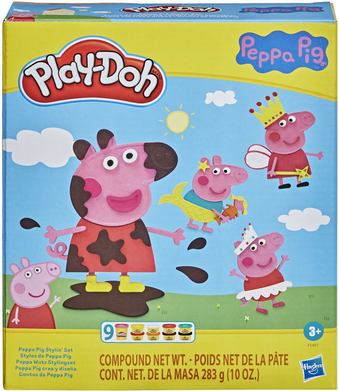 Wholesalers of Play-doh Peppa Pig Stylin Set toys