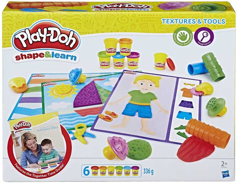 Wholesalers of Play-doh Shape And Learn Textures And Tools toys
