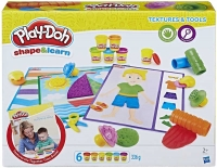 Wholesalers of Play-doh Shape And Learn Textures And Tools toys image