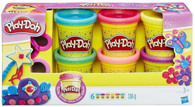 Wholesalers of Play Doh Sparkle Compound toys