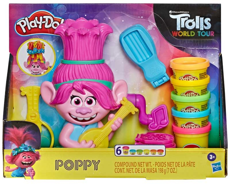 Wholesalers of Play-doh Trolls Poppy toys