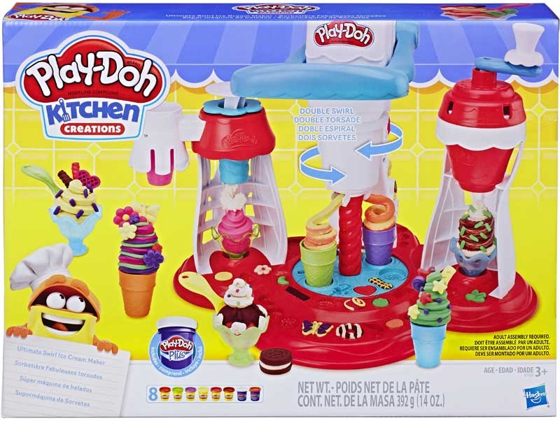 Wholesalers of Play Doh Ultimate Swirl Ice Cream Maker toys