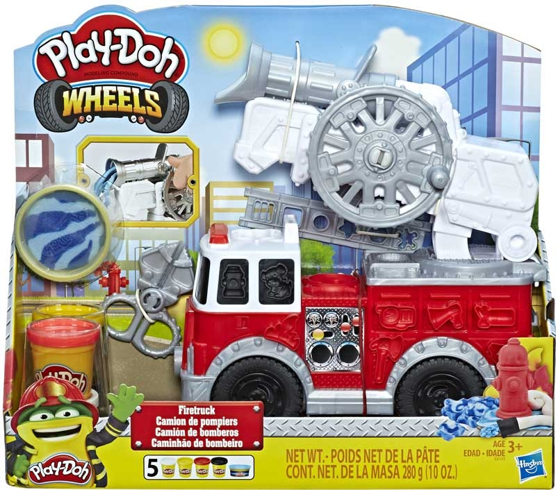 Wholesalers of Play Doh Wheels Firetruck toys