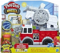 Wholesalers of Play Doh Wheels Firetruck toys image