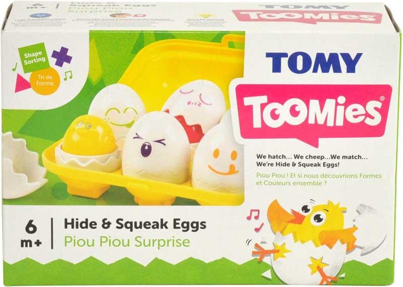 Wholesalers of Toomies Hide N Squeak Eggs toys