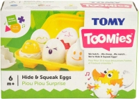 Wholesalers of Toomies Hide N Squeak Eggs toys image