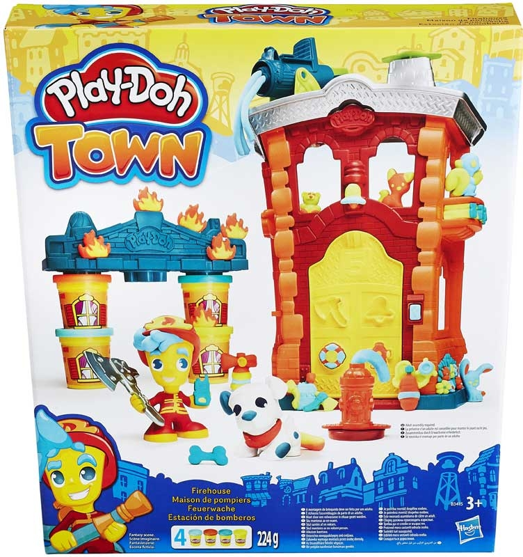 Wholesalers of Playdoh Town Firehouse toys