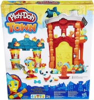 Wholesalers of Playdoh Town Firehouse toys image