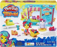 Wholesalers of Playdoh Town Pet Store toys image