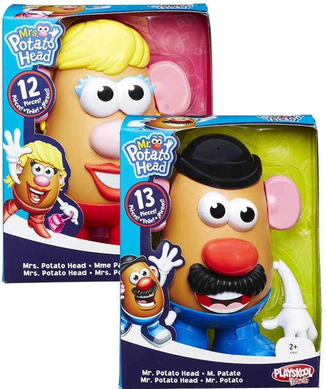 Wholesalers of Playskool Mr And Mrs Potato Head Asst toys