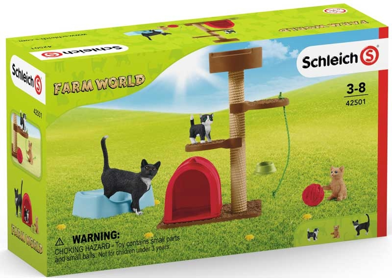 Wholesalers of Schleich Playtime For Cute Cats toys