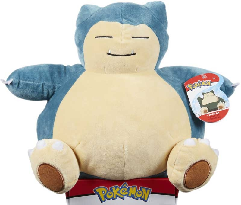 Wholesalers of Pokemon 12 Inch Plush - Snorlax toys
