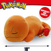 Wholesalers of Pokemon 18 Inch Sleeping Plush Charmander toys image 3