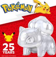 Wholesalers of Pokemon 25th Celebration 3 Inch Silver Bulbasaur toys image 3