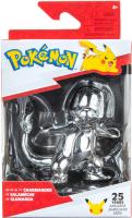 Wholesalers of Pokemon 25th Celebration 3 Inch Silver Charmander toys Tmb