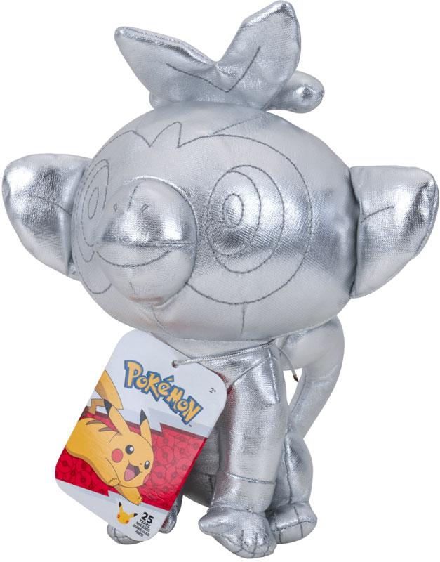 Wholesalers of Pokemon 25th Celebration 8 Inch Silver Grookey Plush toys