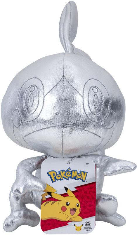 Wholesalers of Pokemon 25th Celebration 8 Inch Silver Sobble Plush toys