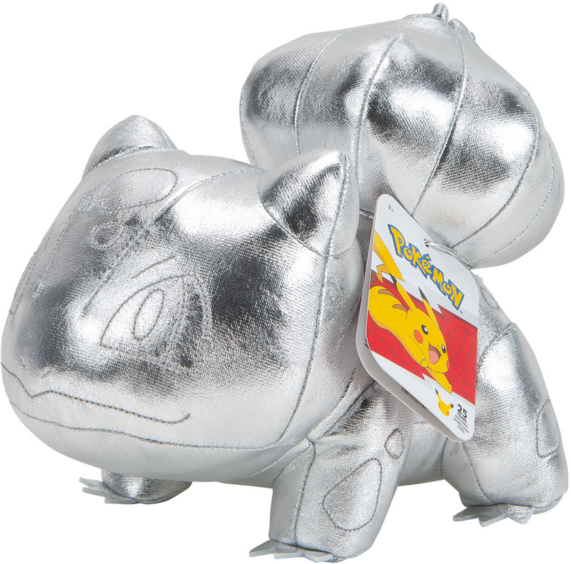 Wholesalers of Pokemon 25th Celebration Silver Bulbasaur Plush toys