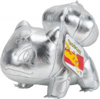Wholesalers of Pokemon 25th Celebration Silver Bulbasaur Plush toys Tmb