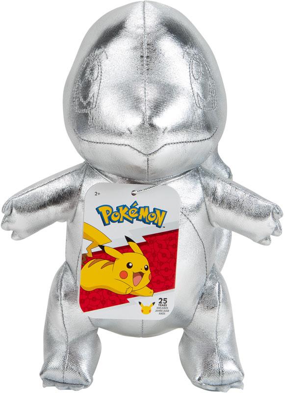 Wholesalers of Pokemon 25th Celebration Silver Charmander Plush toys