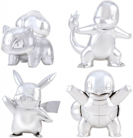 Wholesalers of Pokemon 25th Celebration Silver Figures Asst toys image 2