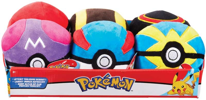 Wholesalers of Pokemon 4 Inch Poke Ball Plush toys