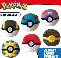 Wholesalers of Pokemon 4 Inch Poke Ball Plush toys image 3