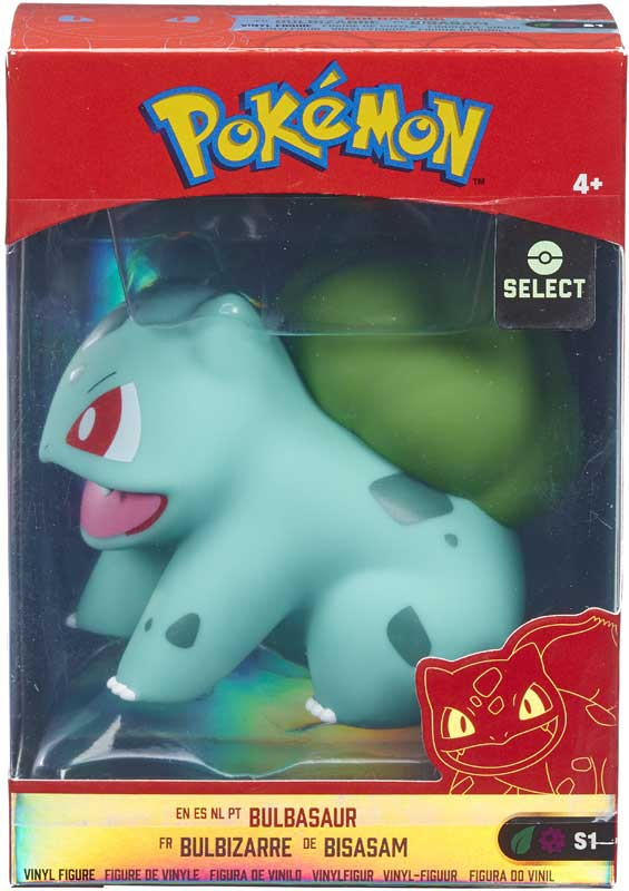 Wholesalers of Pokemon 4 Inch Vinyl Figures - Bulbasaur toys