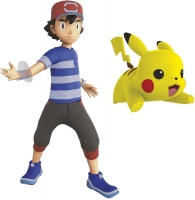 Wholesalers of Pokemon 4.5 Inch Battle Feature Figure - Ash And Pikachu toys image 2